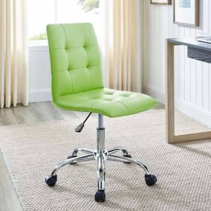 lexmod Prim Armless Mid Back Office Chair