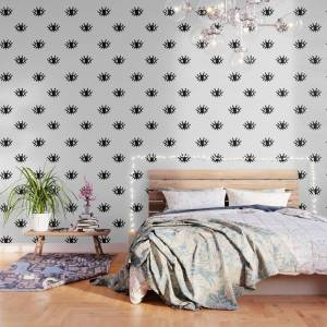 Society6 Open Eyes Wallpaper by dngrmouse