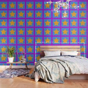 Society6 Starry Starry Day Wallpaper by doriandemand