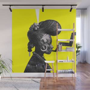 Society6 Chasm Wall Mural by manzelbowman