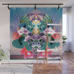 Society6 Untitled Wall Mural by talonwolf