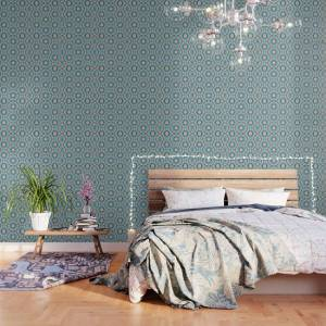 Society6 Tile of the Alhambra Wallpaper by luciagamez