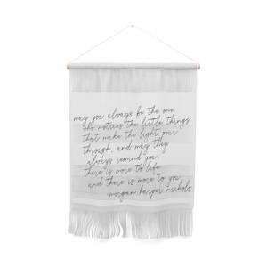 Society6 May You Always Wall Hanging by blackandwhitetype