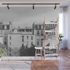 Society6 Paris _ Photography Wall Mural by speakerine