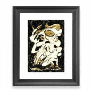 Society6 Deceiver Framed Art Print by 5wingerone