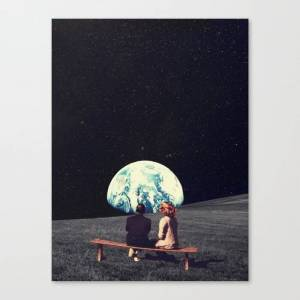 Society6 We Used To Live There Canvas Print by frankmoth