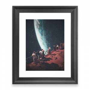 Society6 Missing The Ones We Left Behind Framed Art Print by frankmoth