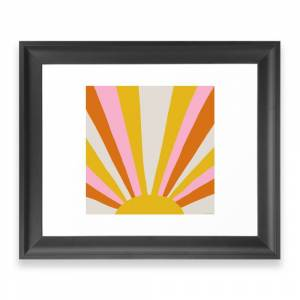 Society6 Sunshine State Of Mind Framed Art Print by sunshinecanteen