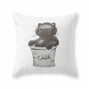 Society6 Bucket of Disappoint Throw Pillow by bobnelsonart