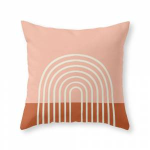 Society6 Terracota Pastel Throw Pillow by hellograce