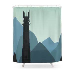 Society6 Orthanc Shower Curtain by residentspooks