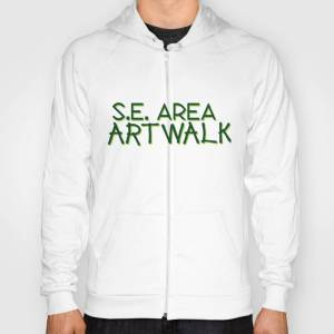 Society6 Portland's 2 Day Self-Guided Tour of Art! Hoody by seareaartwalk