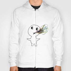 Society6 Dylan's Party Guy Hoody by jonescre8tive