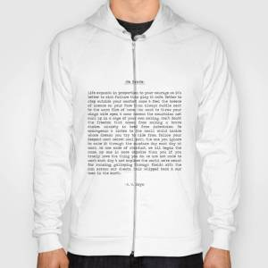 Society6 Be Brave Hoody by summersoulco
