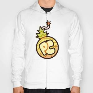 Society6 Pineapple Crew Hoody by cillaid