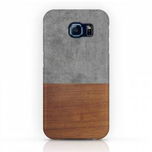 Society6 Concrete and Wood Luxury Phone Case by andrevieira