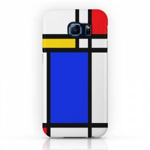 Society6 Mondrian Phone Case by thewellingtonboot