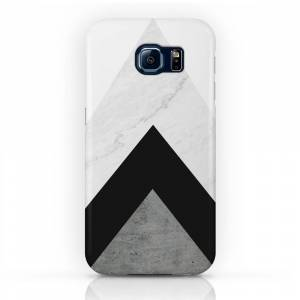 Society6 Arrows Monochrome Collage Phone Case by byjwp