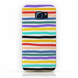 Society6 Wiggly Stripes Phone Case by alilu