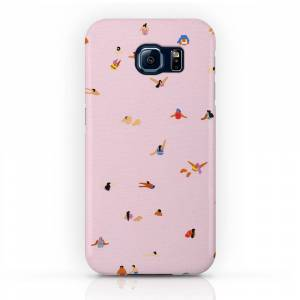 Society6 Pink! Phone Case by helobirdie