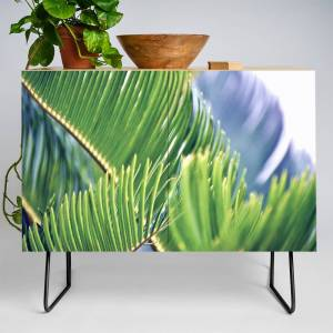 Society6 Tropical Texture Credenza by roxygart