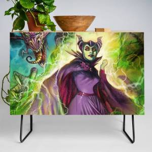 Society6 The Villainess Credenza by castillostudios