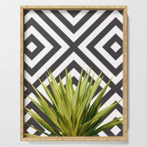 Society6 Agave Serving Tray by mattansoorian