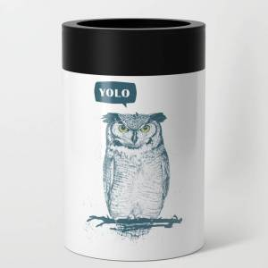 Society6 YOLO Can Cooler by soltib