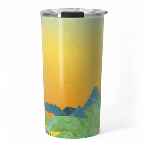 """Society6 The Journey Begins (From The Book, """"you, The Magician"""") Travel Mug by youthemagician"""