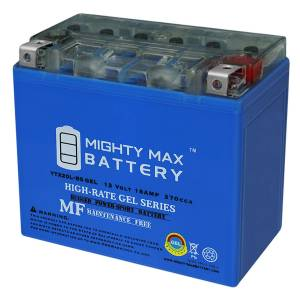 Mightymaxbattery YTX20L-BS GEL Battery Replacement for Bombardier YFV600FW 91-14