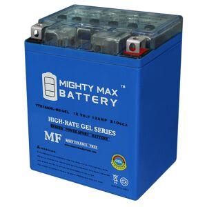 Mightymaxbattery YTX14AHL Gel 12V 12Ah Battery for Kawasaki 600 KL600-B KLR 1985-1986