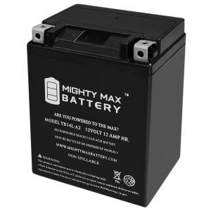 Mightymaxbattery YB14L-A2 12V 12Ah Battery for Gilera 600 Nordwest 1993