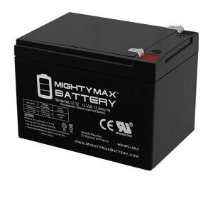 Mightymaxbattery 12V 12Ah F2 Razor E500S, E 500S 13114099 Scooter Battery