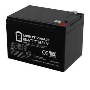 Mightymaxbattery 12V 12AH Battery for Mega Motion Travel Pal 3-Wheel Scooter MM111B