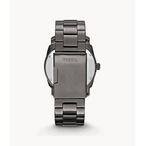 Fossil Machine Smoke Stainless Steel Watch Silver   Fossil®