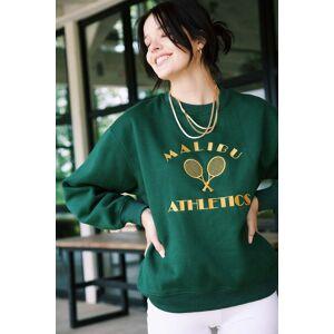 Bailey Rose Marley Malibu Athletics Sweatshirt Kelly Green