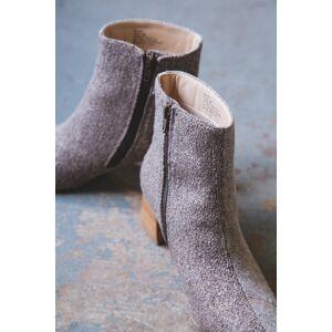 Matisse Footwear Blair Tweed Bootie Brown   Coconuts by Matisse