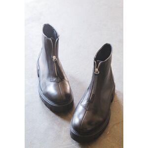 Matisse Footwear Margot Front Zip Boot Black   Matisse