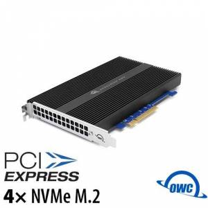 Other World Computing 0TB OWC Accelsior 4M2 PCIe 3.0 NVMe M.2 SSD Card OWCSSDACL4M20GB