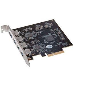 Sonnet Technologies Allegro Pro USB 3.2 4-Port SuperSpeed+ Charging PCI Express 2.0 Card, Thunderbol STIUSB3PRO4P10E