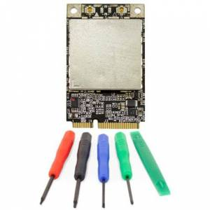 Apple AirPort Extreme- 802.11n Wireless Mini-PCIe Card for Mac Pro 2006-2012 Models. APLBCM94322MCK