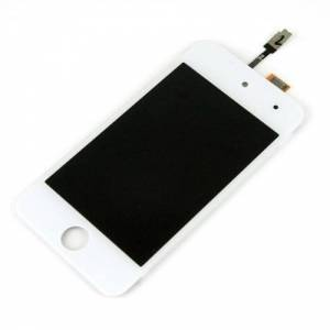 Apple Replacement Glass Digitizer LCD Touch Screen for Apple iPod touch 4G White. Apple OEM, New. APLIPT4GGDBZW