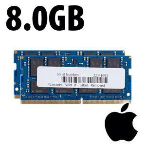 Apple (*) 8.0GB (2x4GB) Apple Factory Original PC4-19200 DDR4 2400MHz 260-Pin SO-DIMM Memory Upgrade Kit APL2417DDR4S08P