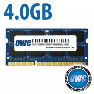 Other World Computing 4.0GB 1867MHz DDR3 SO-DIMM PC3-14900 SO-DIMM 204 Pin CL11 Memory Module OWC1867DDR3S4GB