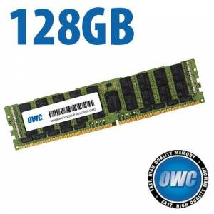 Other World Computing 128GB OWC Brand PC23400 DDR4 ECC 2933MHz 288-pin LRDIMM memory upgrade module OWC2933D4LR124G