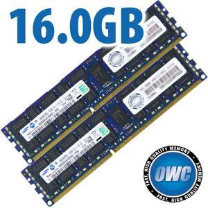 Other World Computing 16.0GB Mac Pro / Xserve 2009 Memory Matched Set (2x 8GB) PC-8500 1066MHz DDR3 ECC-R SDRAM Modules OWC85MP3S8M16GK