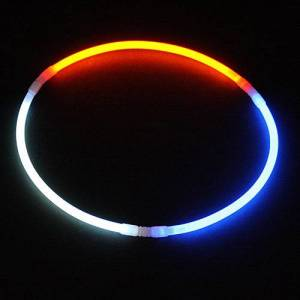 Shindigz Red White and Blue Glow Necklaces