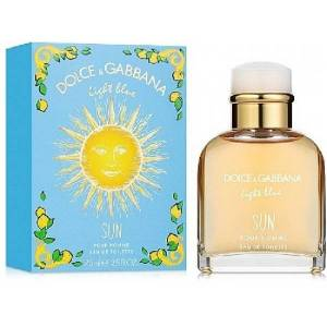 - Light Blue Sun Pour Homme : Eau de Toilette Spray 2.5 Oz / 75 ml