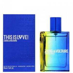 Zadig & Voltaire - This Is Love Pour Lui : Eau de Toilette Spray 1.7 Oz / 50 ml