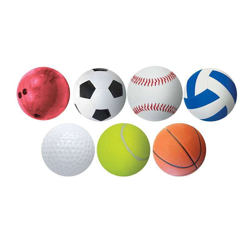 Hygloss Products Inc Hygloss Products HYG33716BN 6 in. Sports Accents - Pack of 6